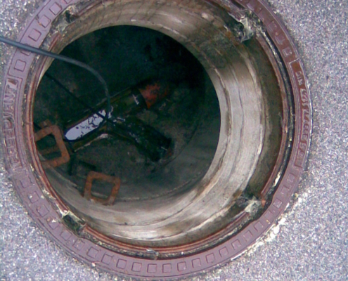 Dichtheitsprüfung Kanal Hauskanal Abwasserkanal Fridolfing Waging Traunstein Laufen Taching